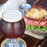 Belgian Dubbel paired with our monthly Brewer's Board special.