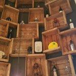 Elementos ornamentales en las paredes