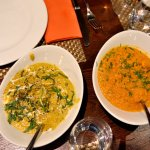 Two of the curries