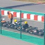 Karting Portimao keep in line