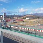 Karting Portimao view from restaurant