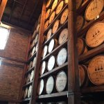 The barrel room - my favorite room on any tour!