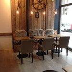 Coffee area ...