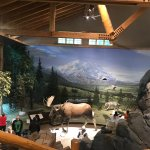 Inside the Visitor Center