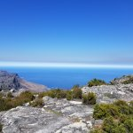 View from the top of Table mountain after Platteklip Gorge hike