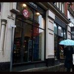 Costa Coffee in Waterstones, Nottingham