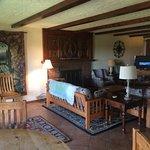 The living room on the Inn