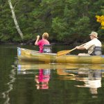 Paddling on the South Kawishiwi River into the BWCA with River Point Outfitting Co.