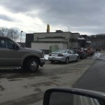 drive through line approximately 2:30 pm
