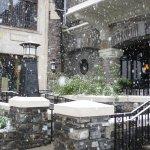 Snow at Fairmont Chateau Lake Louise