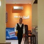 A lovely server at Casa de la Miel