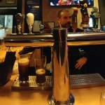 Properly pouring a Guinness