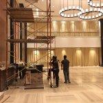 The New Grand Foyer under Renovation