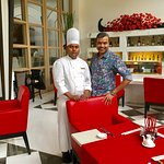 With Chef Vinod