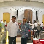 With Sandeep Kalra, Executive Chef
