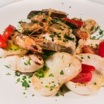 Grilliata. Grilled Seafood for one or for two.