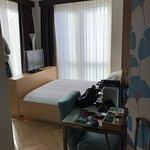 Camera doppia con tutti i comfort, bagno moderno e possibilità di usufruire gratuitamente dell'u