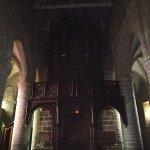 la nef vers l'entrée