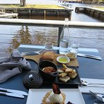 3 entrees and a view -- at Risby Cove in Strahan