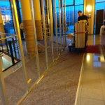 Baumaßnahmen in der Lobby