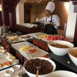 Executive lounge - breakfast buffet