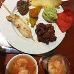 Executive lounge - dinner sample