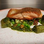 Pan Seared Fillet of Sea Trout from the a la carte menu