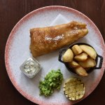 Fish and chips weekly Thursday dinner special £7.50 pp