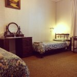 Room 3 - Twin Room (2 single beds) with ensuite and bath.