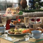 Champagne Afternoon Tea at Theatre Cafe Restaurant.