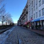 River Street Savannah Foto