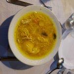 zupka, bulionik drobiowy z warzywami...lepiej wyglada niz smakuje :(