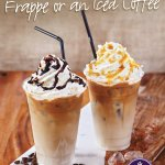 Frappe and Iced Coffees