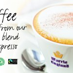 Coffee made from our fine blend of espresso