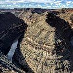 Goosenecks panoramic