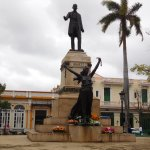 The memorial of Jose Marti