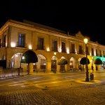 Plaza Espagna and hotel