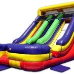Jumping Jack's Dual Lane Slide