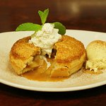 House-made apple pie
