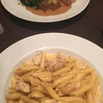 Corran Inn chicken and Cajun Chicken Pasta