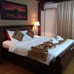 Our double room on the 1st floor
