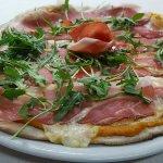 Pizza de autor ibérica