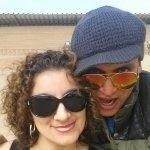 Chan Chan con Mili mi pata despues a Huanchaco al ceviche