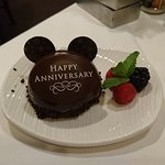 Complimentary dessert - very thoughtful!