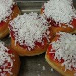 The Raspberry Zinger Doughnut