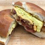 Breakfast Sandwiches made fresh daily