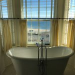 For me this says it all take a bath and look out your window to the ocean
