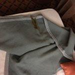 Skid marks on blanket :-/