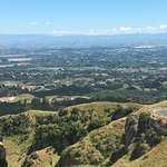 View from top of Te Mata