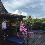 Make sure you take advantage of the yoga classes.